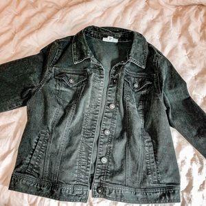 Black Jean Jacket